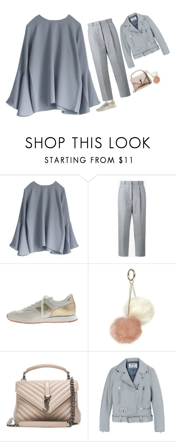 """Bez tytułu #3909"" by olgon ❤ liked on Polyvore featuring Acne Studios, J.Crew, Dorothy Perkins and Yves Saint Laurent"