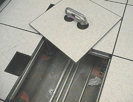 Awesome Raised Floor Detail