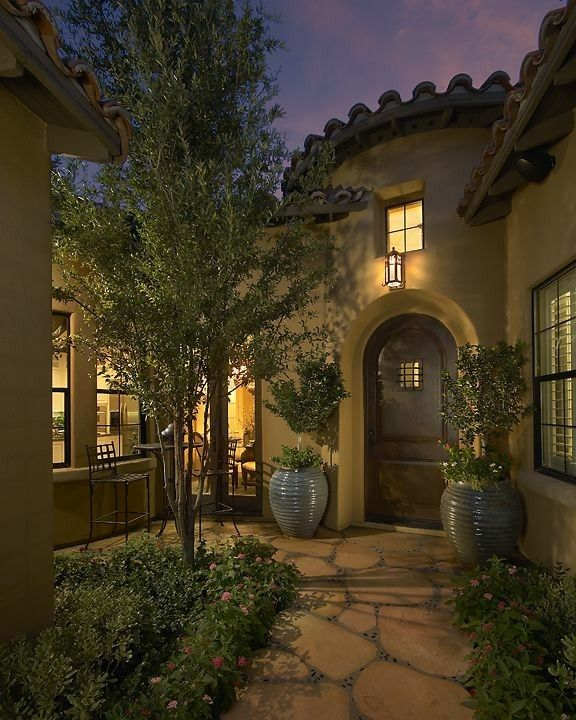 Courtyard Mediterranean House Plans Revival Luxury: Pin By Debby💖💜💛💚 Machado On Love It.