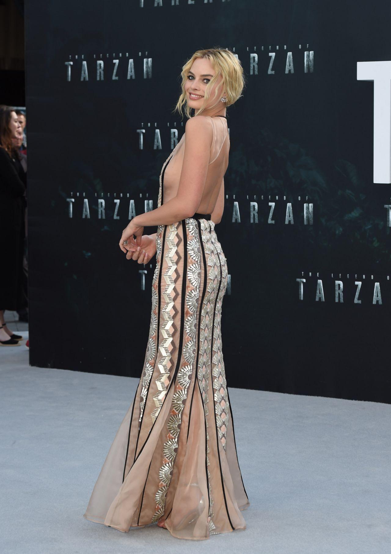 Margot Robbie – The Legend Tarzan Premiere in London UK