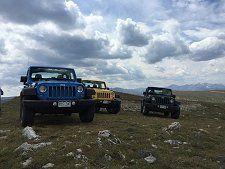 Summer Jeep Wrangler Rental Rates Breckenridge Colorado Summit