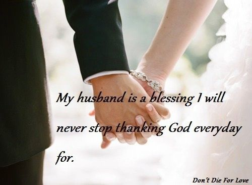 Every Day I Thank God For My Husband So Thankful Love My