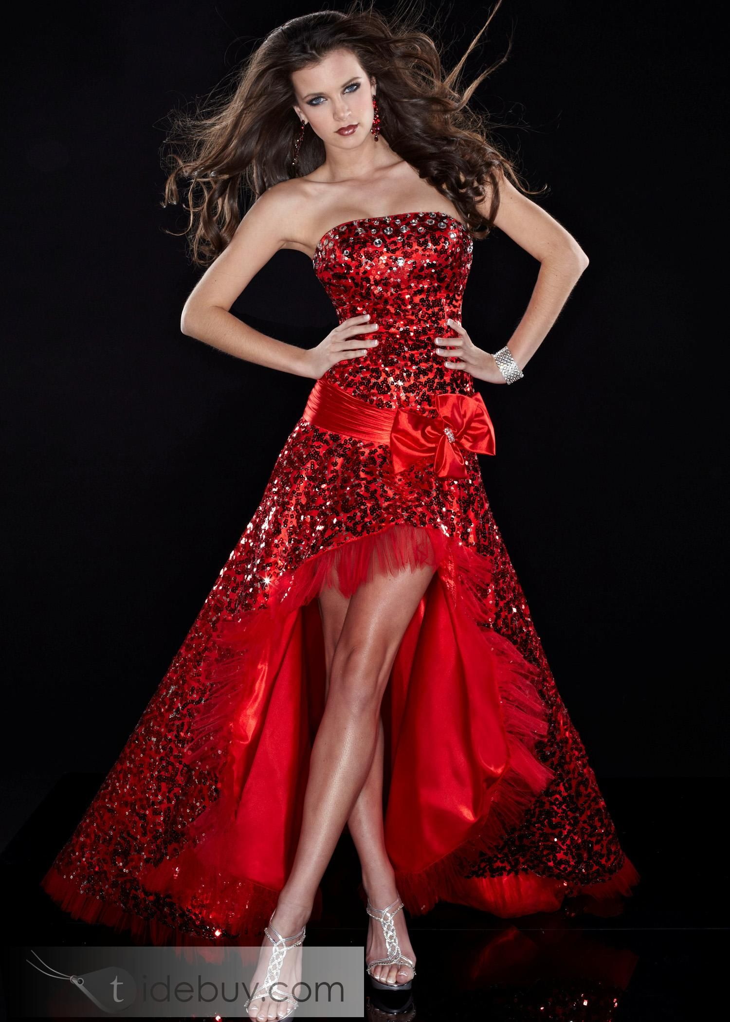 That red hot high low dress my style pinterest high low and