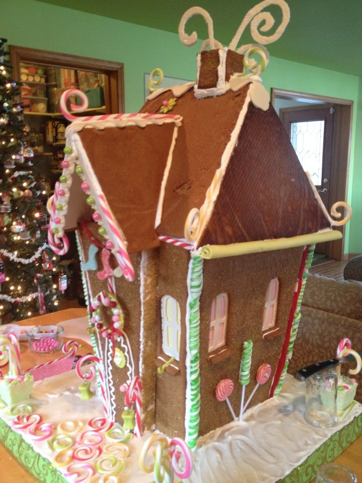 2013 gingerbread house
