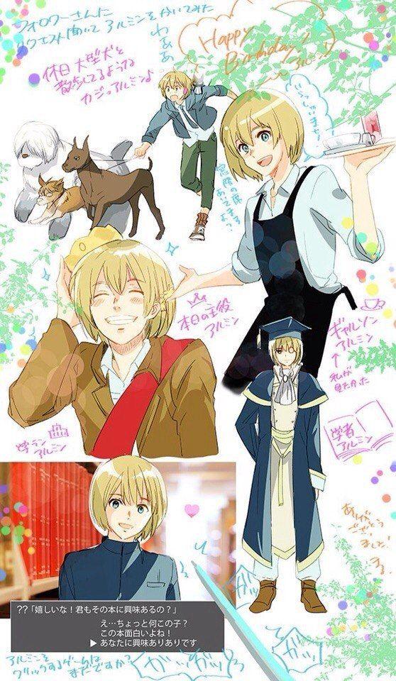 Armin Arlert   Attack on titan fanart, Armin, Attack on titan