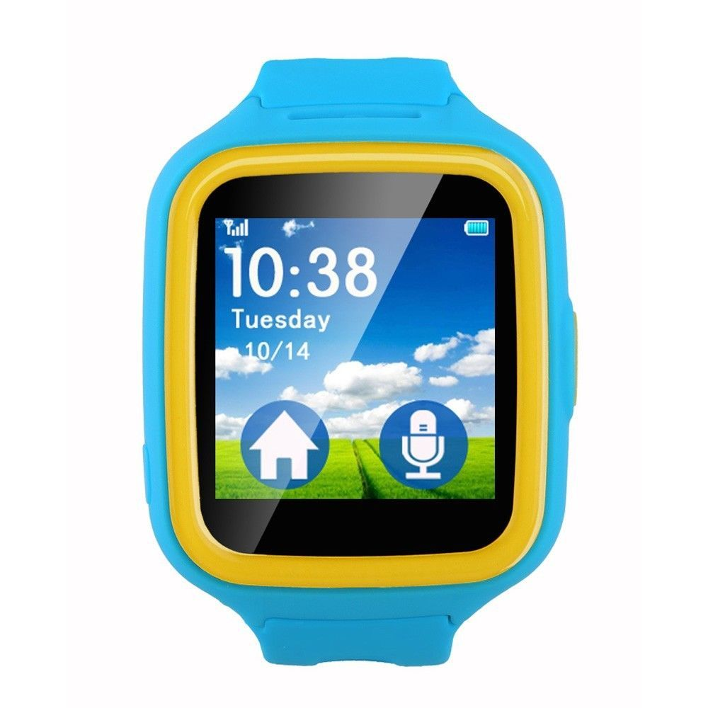 Kids Smartwatch GPS Tracking WiFi Phone Color Touch Screen