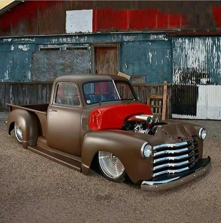 50 Model Chevy Truck