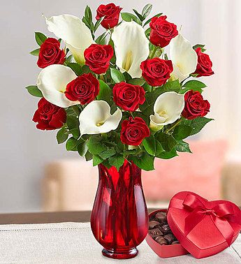 Stunning Red Rose Calla Lily Bouquet Rose Flower Arrangements Valentine Flower Arrangements Flower Arrangements