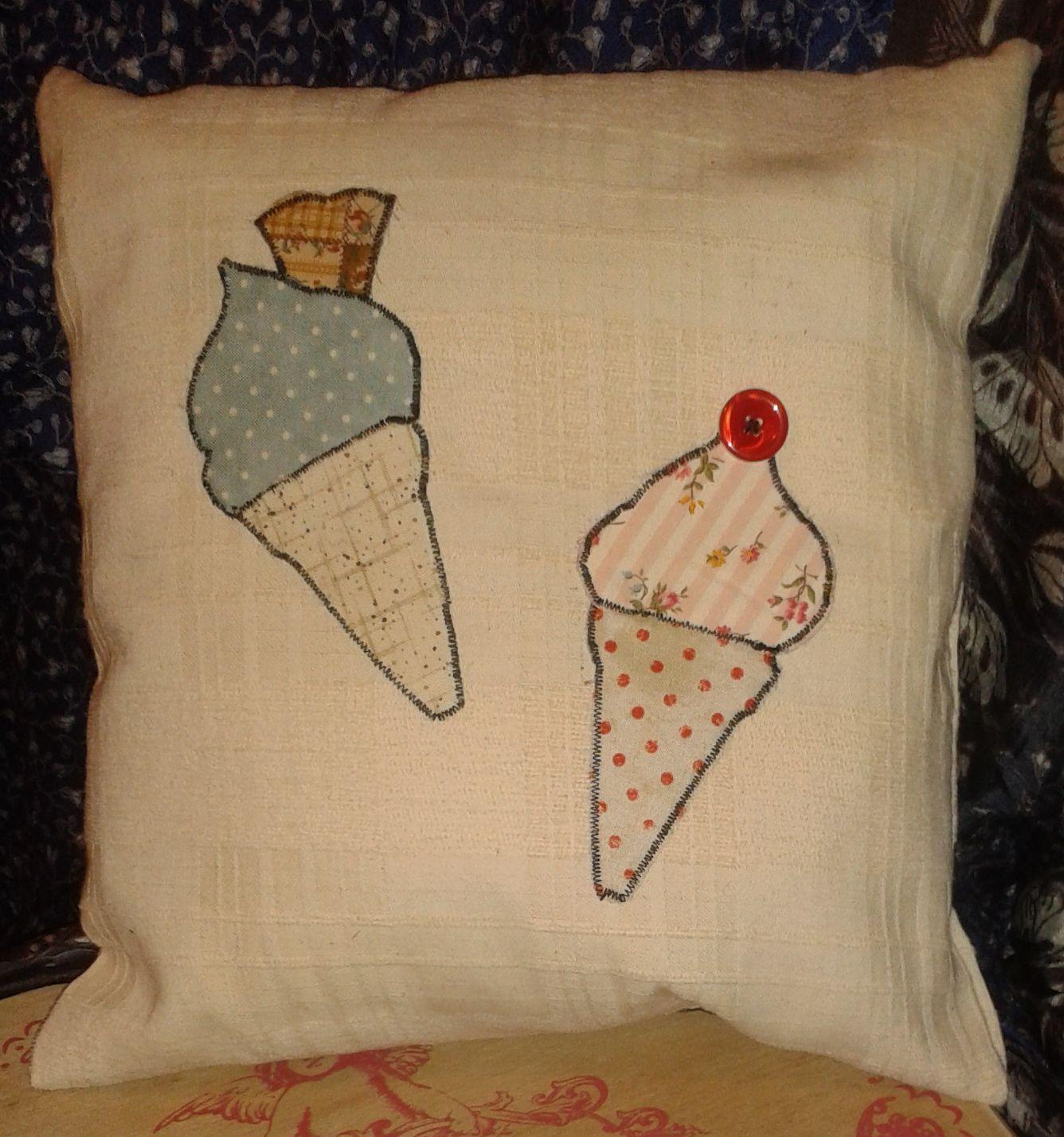 hand made ice cream cushion
