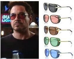 f159dab750 Red tint Tony Stark Ray Ban Sunglasses Sale