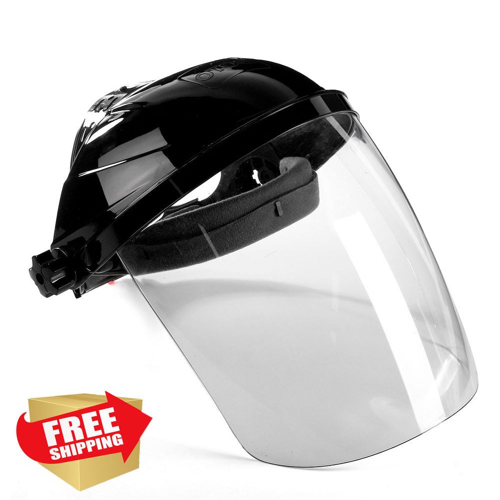 Safety Face Shield Clear Tool Full Mask Glasses Painting