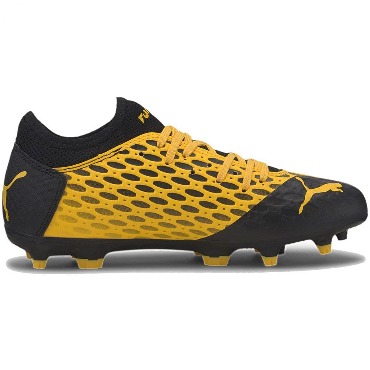 Buty Pilkarskie Puma Future 5 4 Fg Ag Jr 105810 03 Zolte Zolte Puma Sport Shoes Shoes