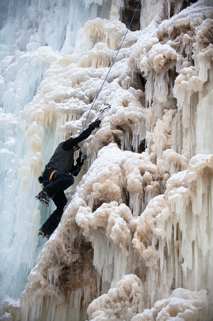 ice climbing | extreme sports + lifestyle photography #adventure