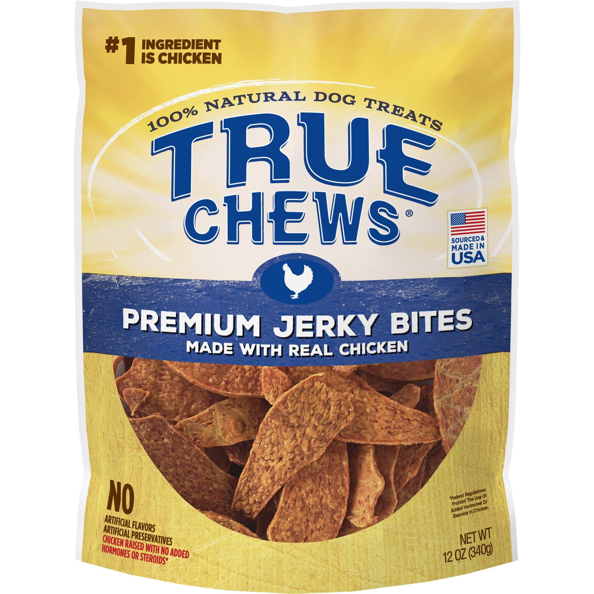 True Chews Premium Chicken Jerky Bites Dog Treats 12 Oz Dog