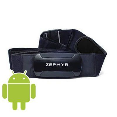 Zephyr HxM Bluetooth Wireless Heart Rate Sensor for Android