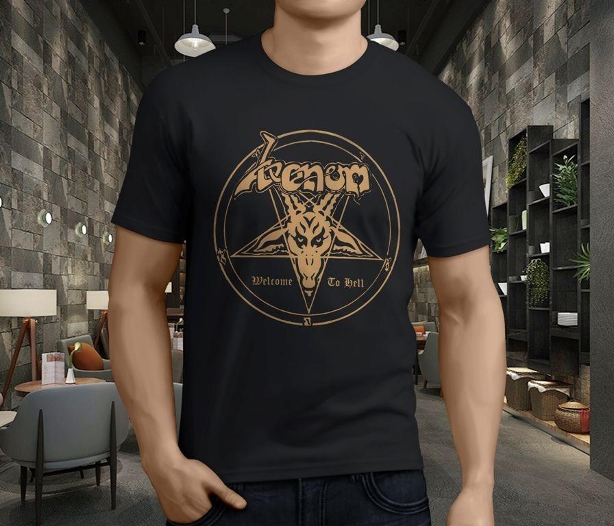 Welcome to Hell t-shirt XS XXL M XL L Venom S