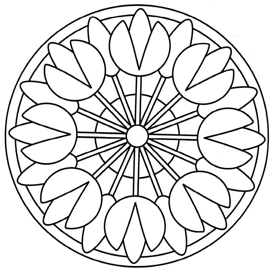 Pin De ирина долгополова En трафаретный круг Mandalas Para