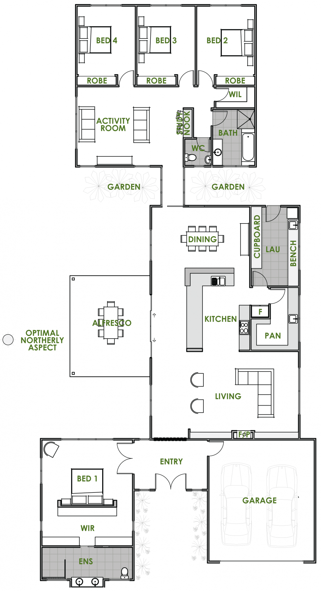 Floor plan friday an energy efficient home katrina for House plans for energy efficient homes