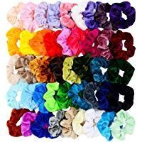 Chloven 45 Pcs Hair Scrunchies Velvet Elastics Bobbles Hair Bands Scrunchy Hair ...   - Amazon Beauty & Personal Care BestSellers - #Amazon #bands #Beauty #BestSellers #bobbles #Care #Chloven #Elastics #Hair #Pcs #personal #Scrunchies #Scrunchy #Velvet #hairbands