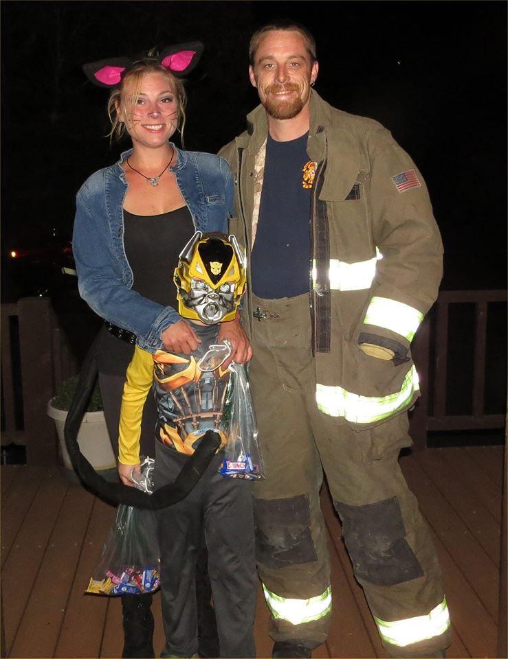 Image Credit Facebook/Aaron VanRiper Firefighter
