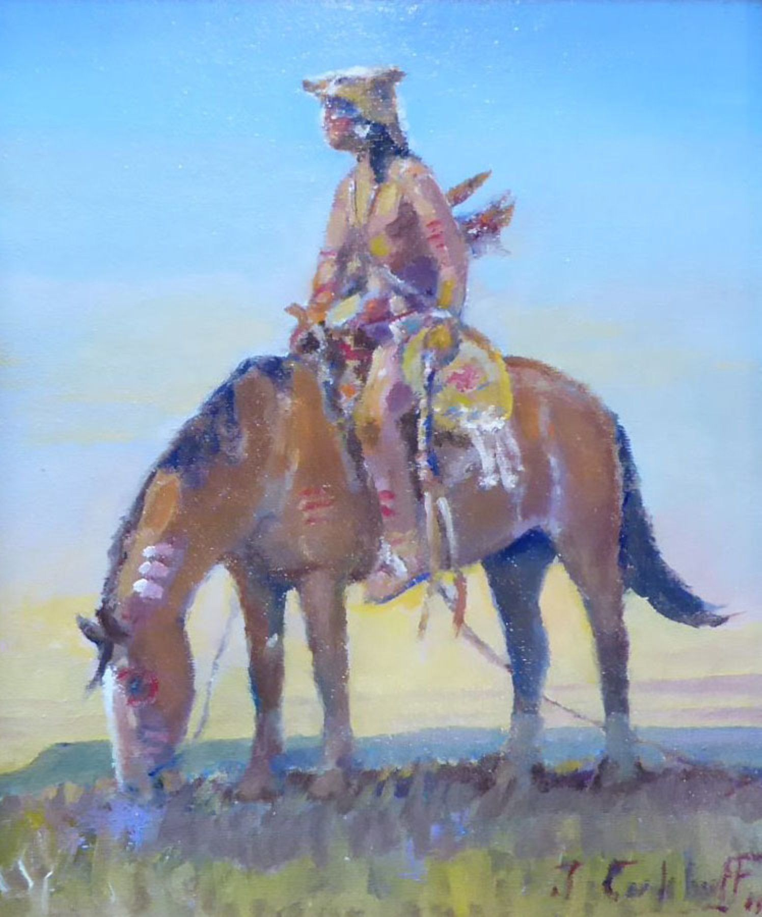 Sentinel Of The Plains By Jim Carkhuff