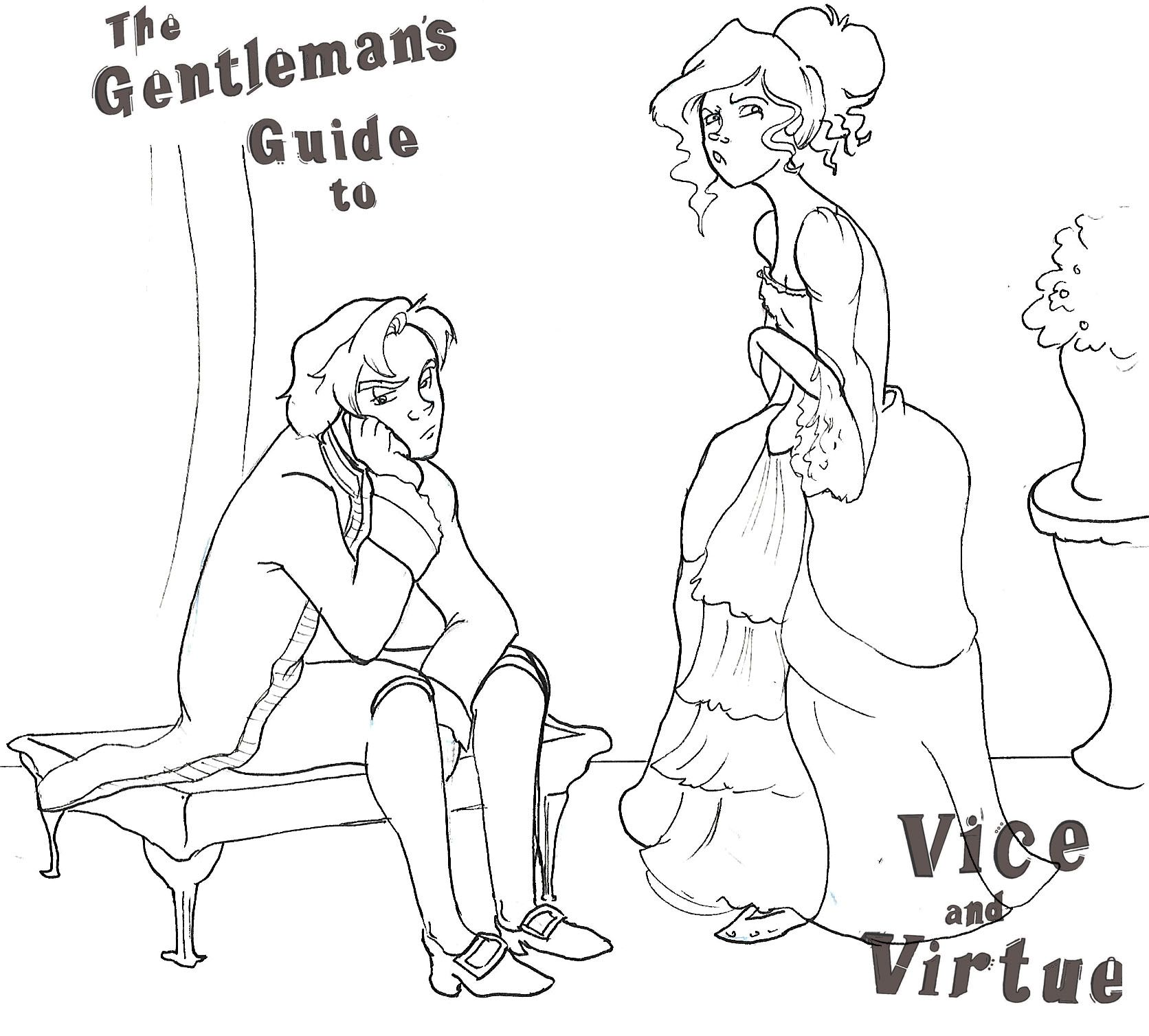 Download Free Coloring Pages For The Gentleman S Guide To Vice Virtue With Images Gentlemans Guide Gentlemens Guide Vices Virtues