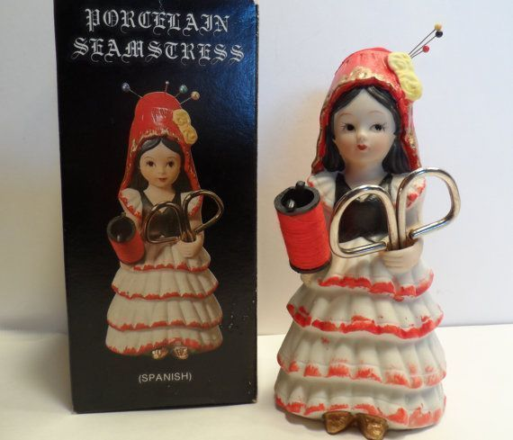 Porcelain Seamstress Sewing Helper Spanish Doll Figurine Pin Cushion Scissors and Thread Holder #spanishdolls Porcelain Seamstress Sewing Helper Spanish Doll by TinkrGems, $22.00 #spanishdolls Porcelain Seamstress Sewing Helper Spanish Doll Figurine Pin Cushion Scissors and Thread Holder #spanishdolls Porcelain Seamstress Sewing Helper Spanish Doll by TinkrGems, $22.00 #spanishdolls Porcelain Seamstress Sewing Helper Spanish Doll Figurine Pin Cushion Scissors and Thread Holder #spanishdolls Porc #spanishdolls