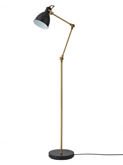 Black Brass Angle Floor Lamp Floor Standing Lamps Floor Lamp Lamp
