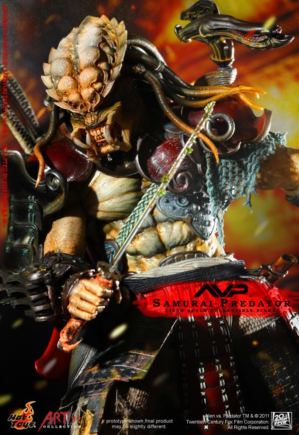ALIEN VS PREDATOR : SAMURAI PREDATOR 1 6th scale figure
