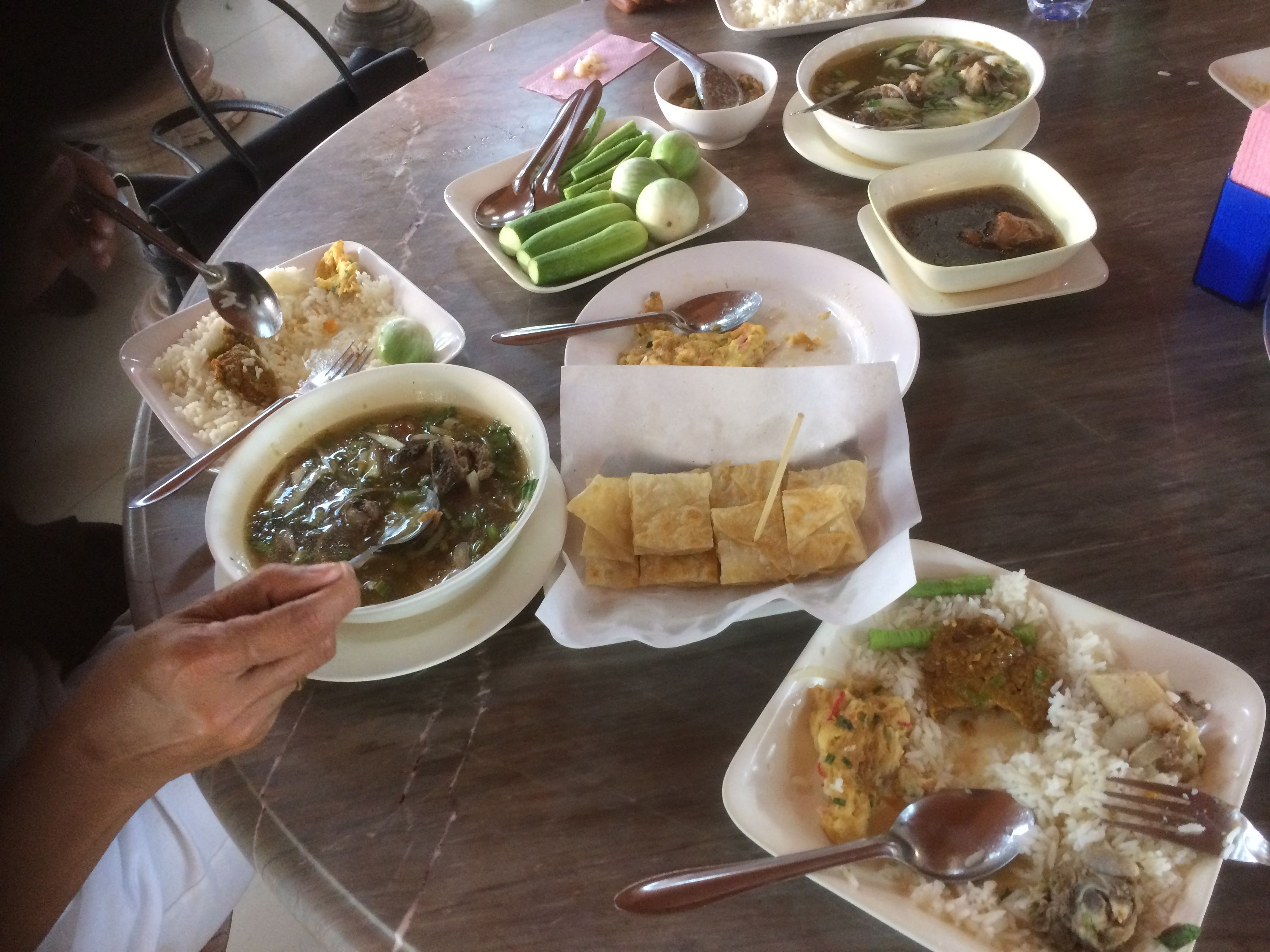"Thai Road Trip. Bangkok to Phuket & Phuket to Pha Phanang, https://russellabroad.blogspot.co.uk/2017/01/thai-road-trip.html Cool images & videos of the route & of course the food.  ""Like"" or ""Share"" right now if you would rather be on #Phiphiisland.  @ibackpackerapp"
