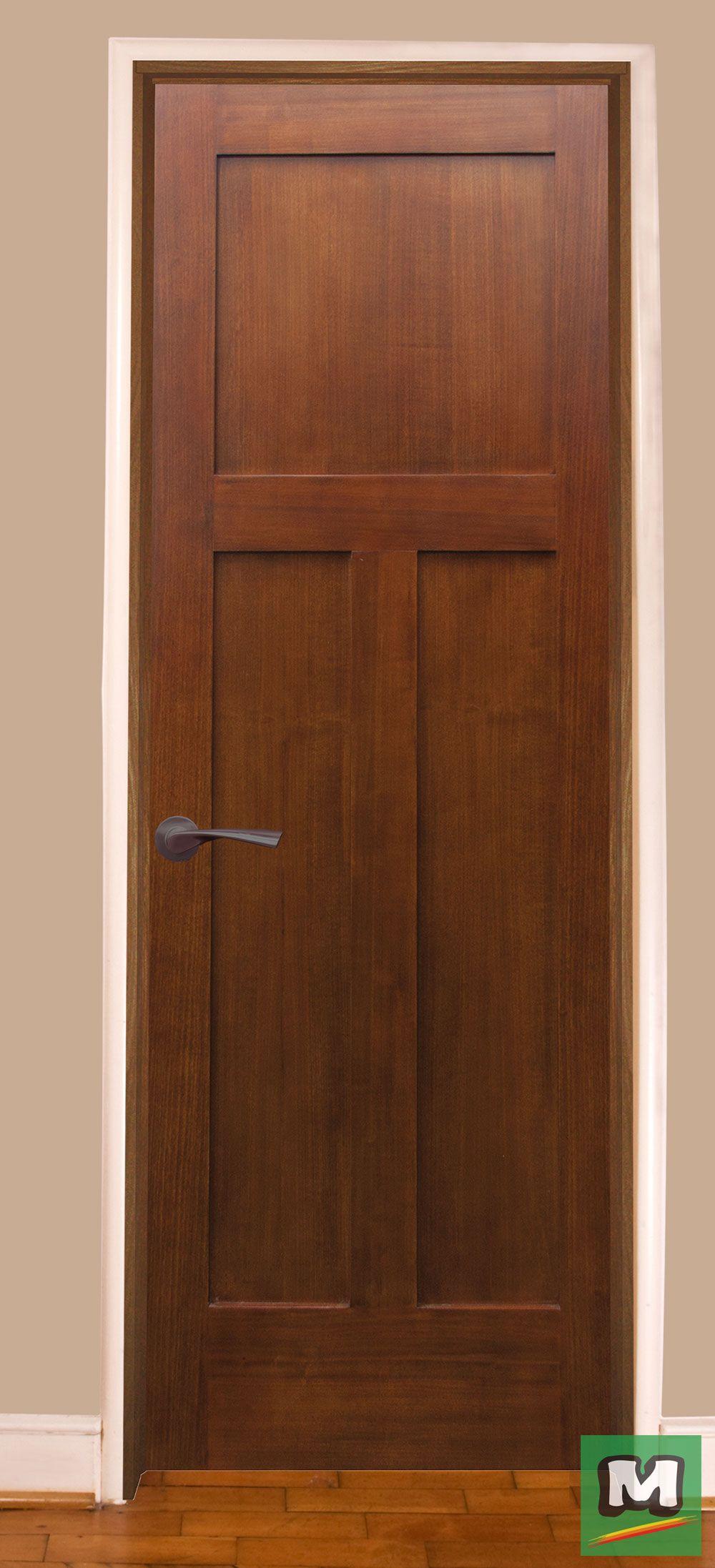 Add This Mastercraft 3 Panel Craftsman Door With Frame To Any Room In Your Home It C Craftsman Interior Doors Solid Core Interior Doors Prehung Interior Doors