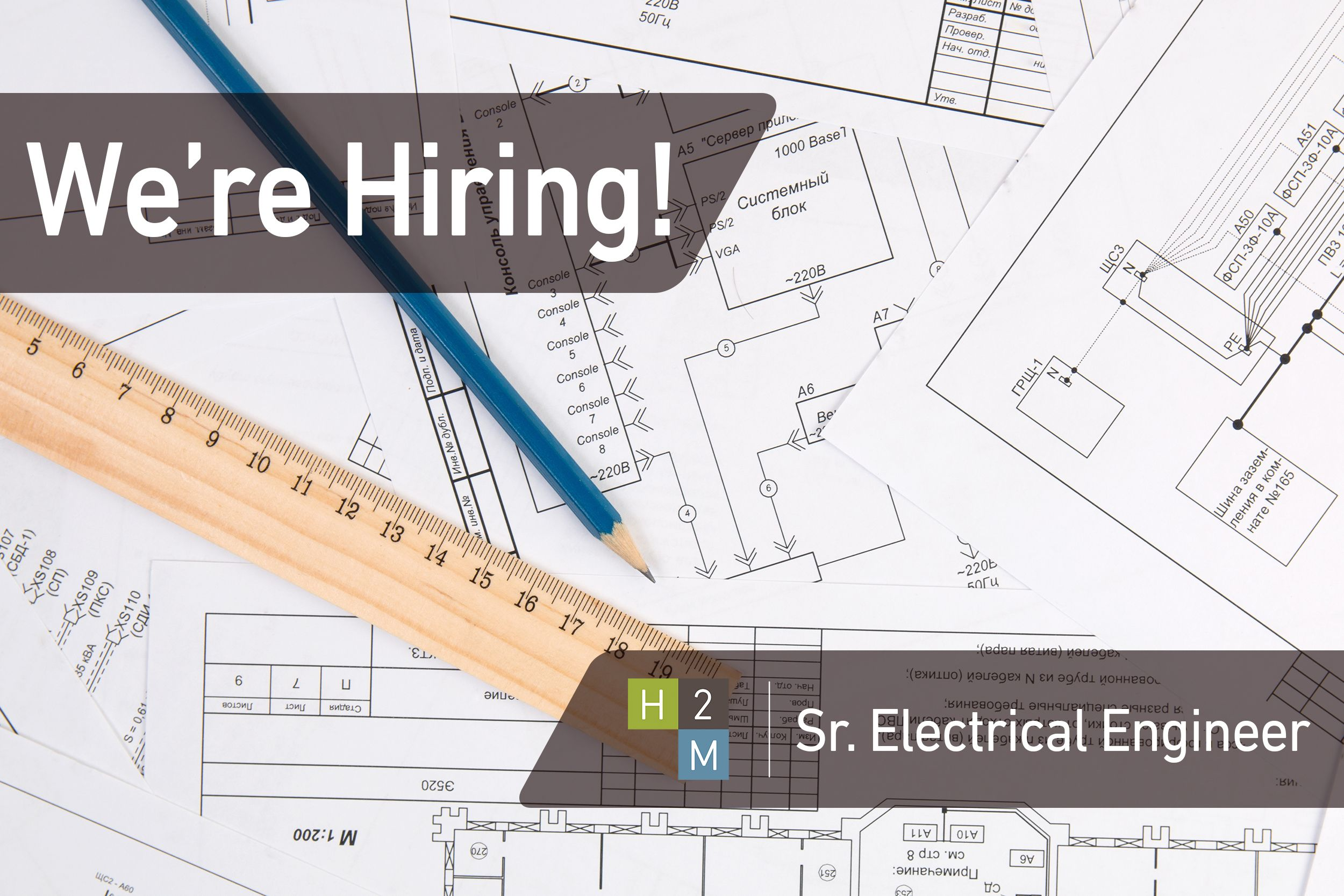 We're Hiring! Sr. Electrical Engineer 6+ years of