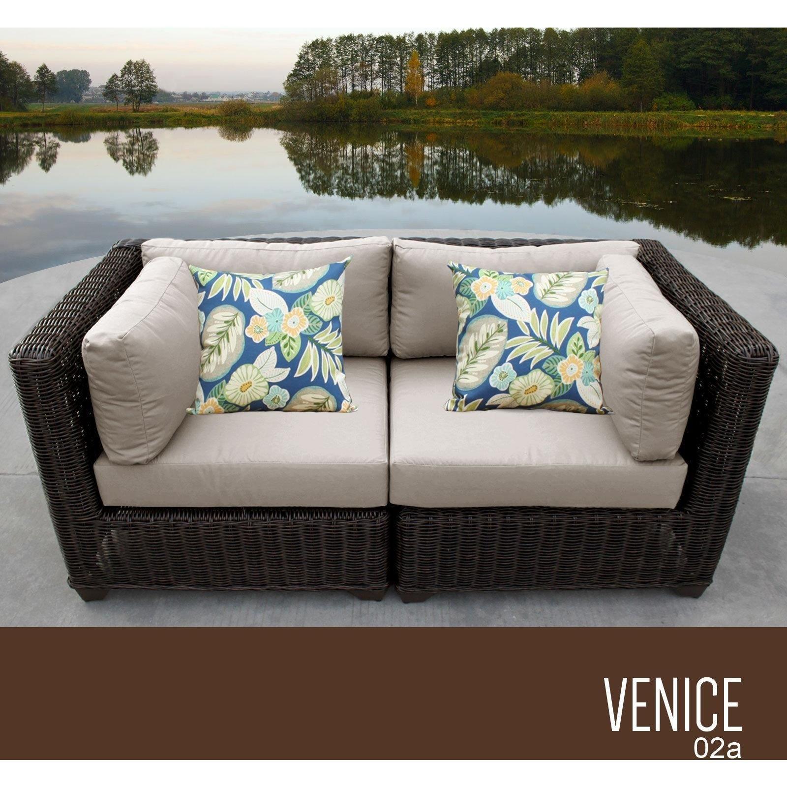 Venice 2 Piece Outdoor Wicker Patio Furniture Set 02a