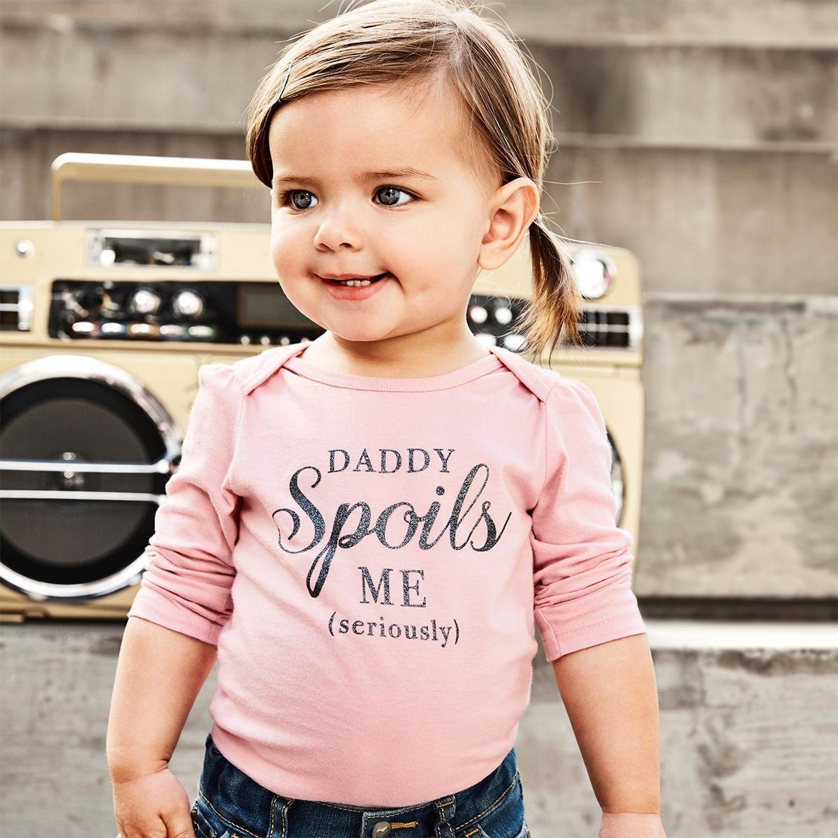 d7e6dd2aa9e7e Baby fashion | Baby clothes | Graphic bodysuit | The Children's ...
