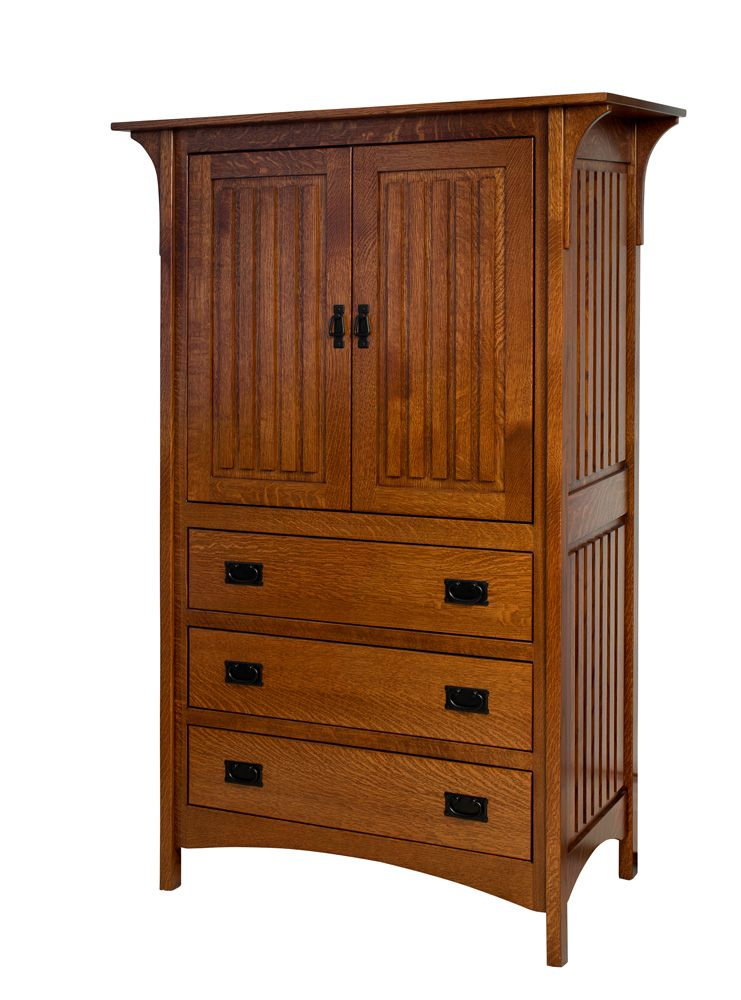 Borkholder Furniture Deluxe Mission Armoire With Images