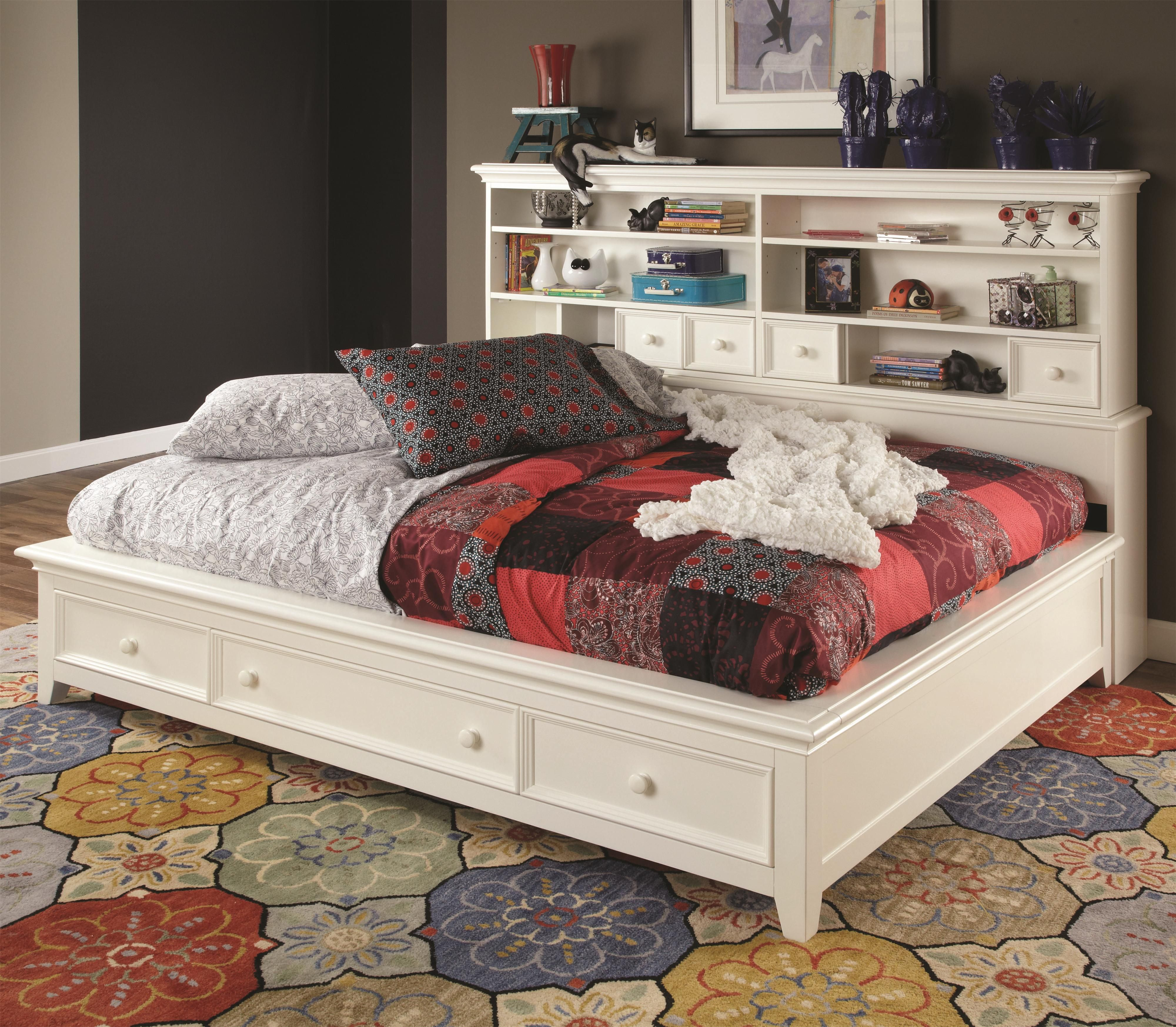 Mattress for platform bed with slats - Willow Run Twin Sideways Platform Bed With Slat Pack By Lea Industries Wolf Furniture