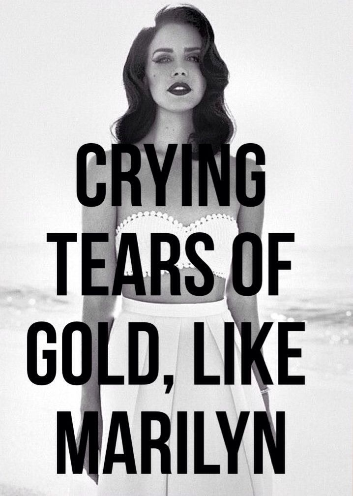 Ultraviolence- Lana del rey as i been crying tears of diamonds for ...