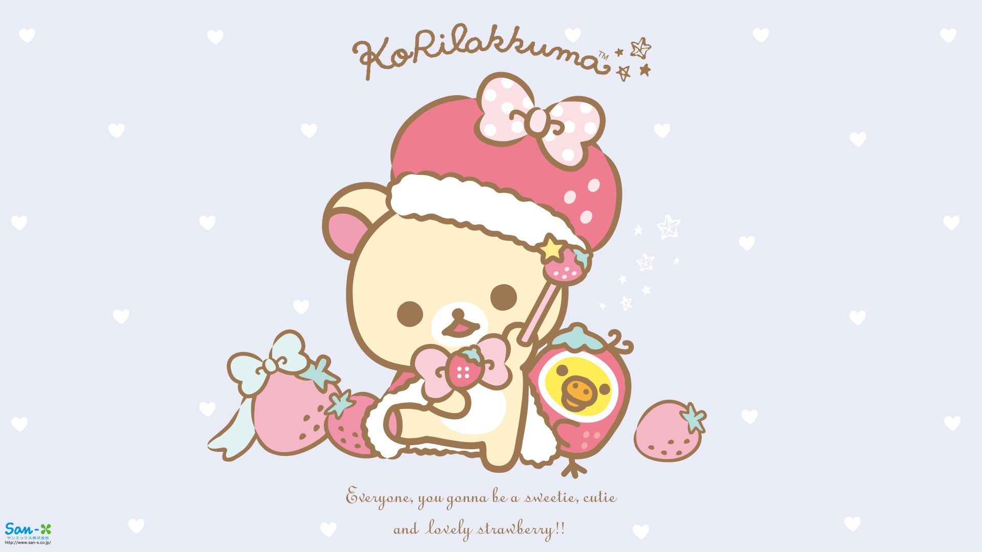 1920x1080 1080 x 1920 in 2019 Rilakkuma wallpaper, Cute