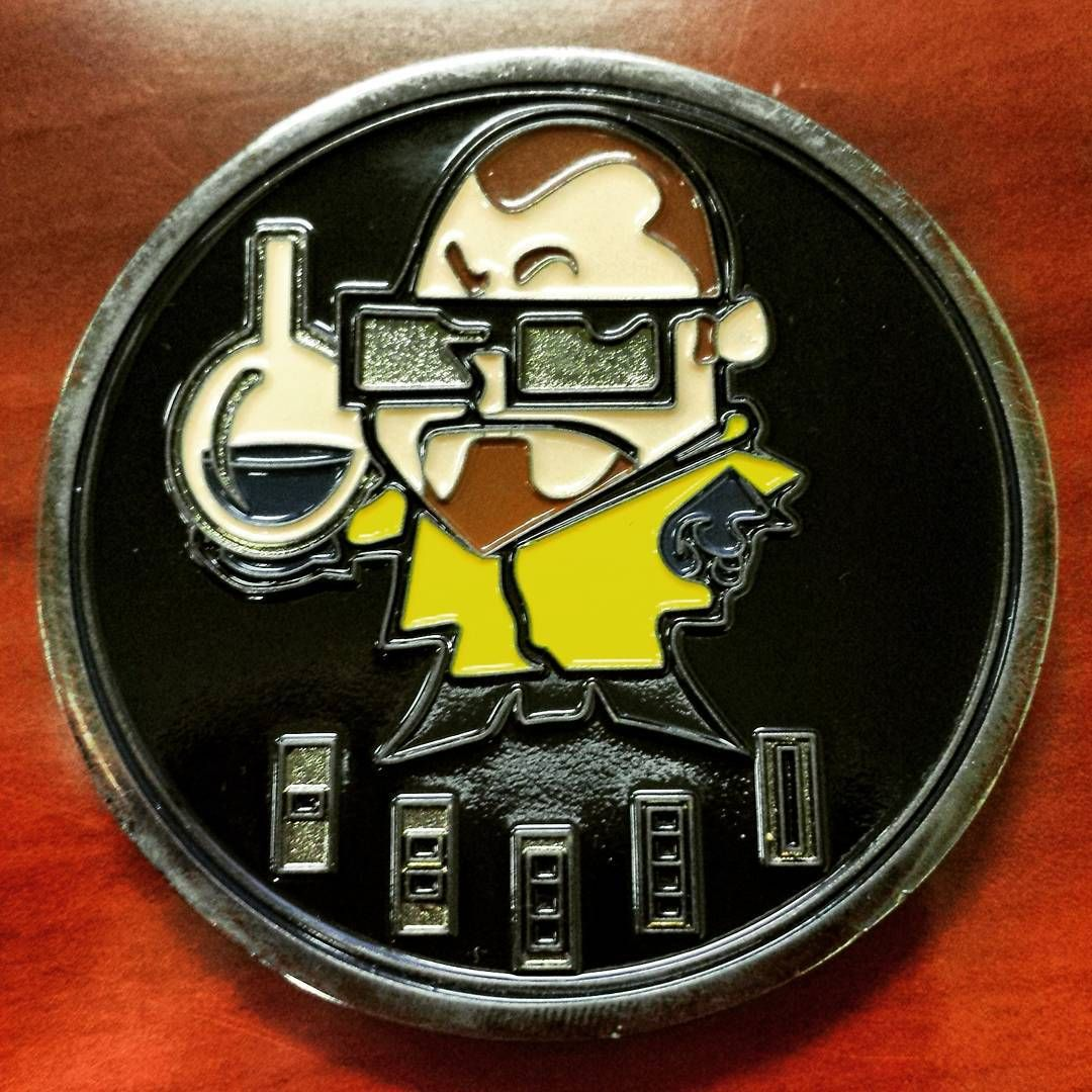 A Coin For The Us Army Cbrn School The Primary Military Training School Specializing In Chemical Biological Challenge Coins Military Training Training School