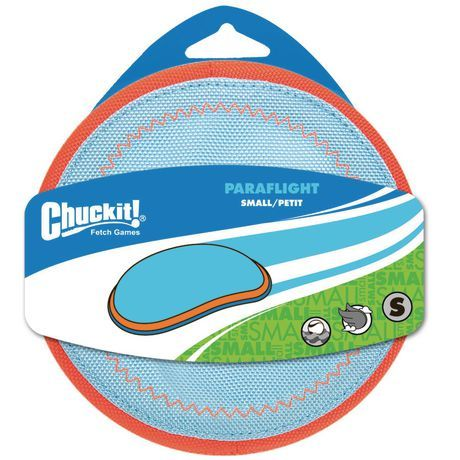 Chuck It Chuckit Paraflight Small Disc Dog Toy Assorted Small