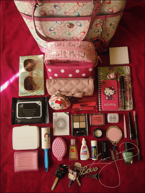 Whats in your bag? (With images) | Purse essentials