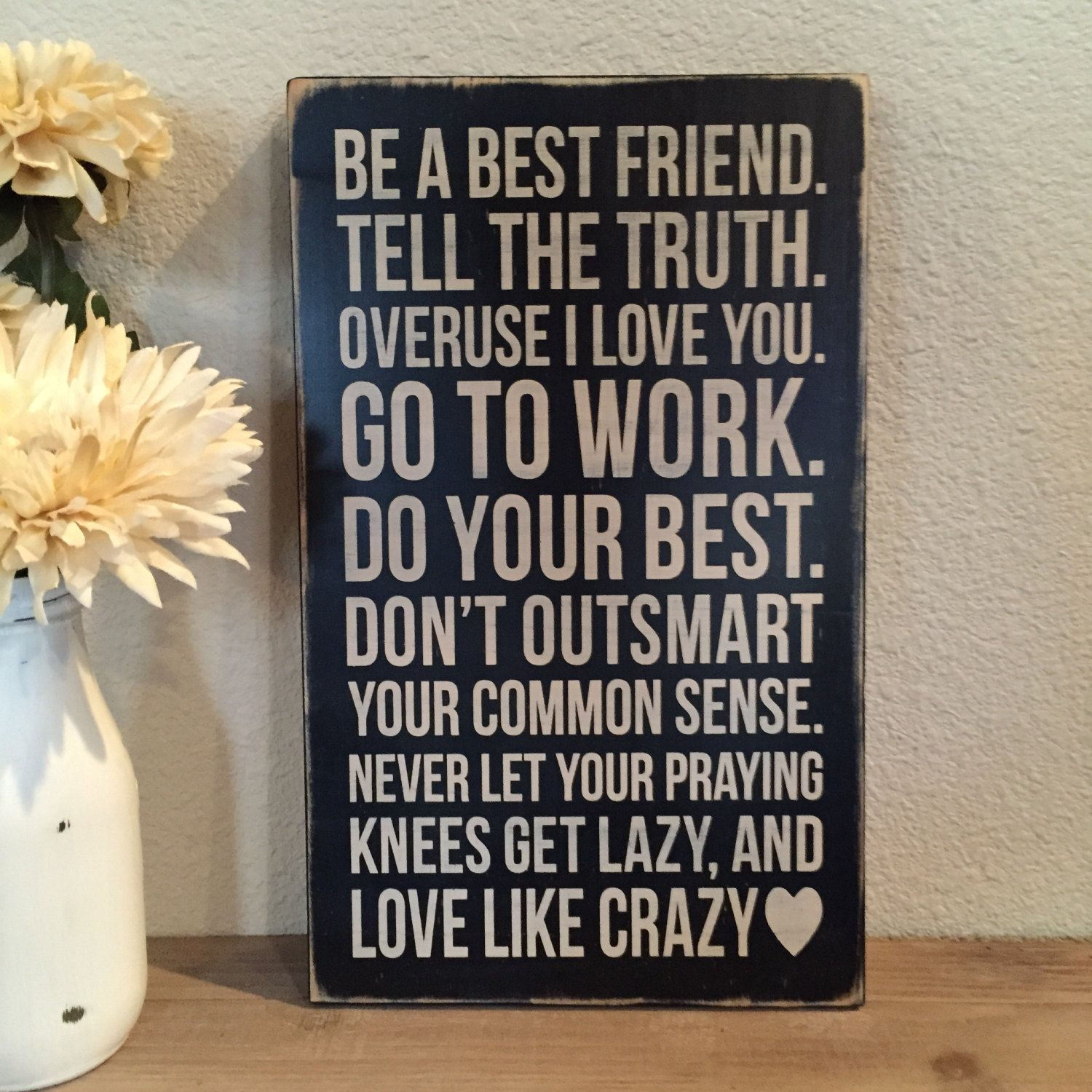 Love Quote Signs Distressed Wood Sign Love Like Crazy Leejuneandkatehome  Home