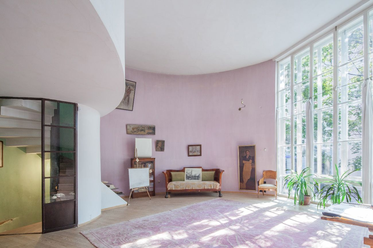 house and interiors. Interiors Melnikov house entry way  Interior Life Pinterest Moscow
