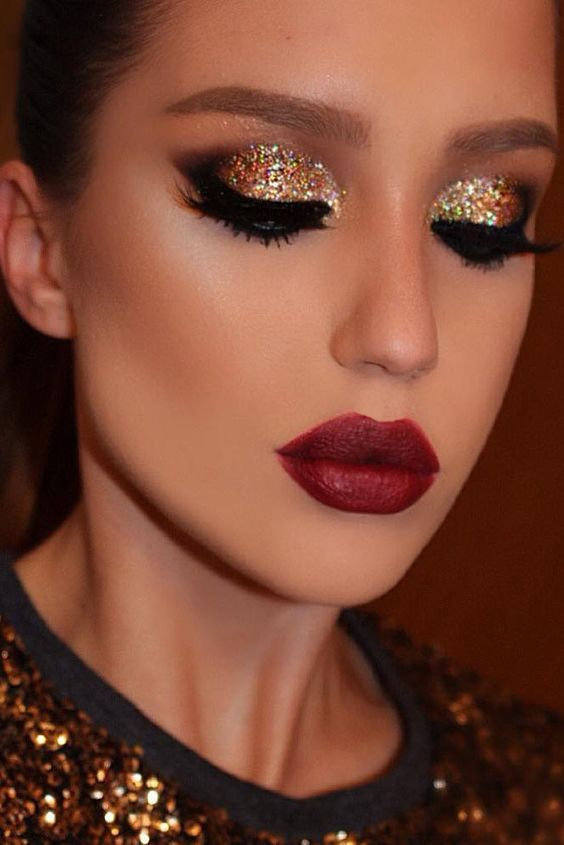 40 gorgeous christmas makeup ideas to look beautiful during holidays