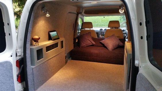 2009 Vw Caddy Maxi Camper Mx Van 1 9tdi Look Gloucestershire