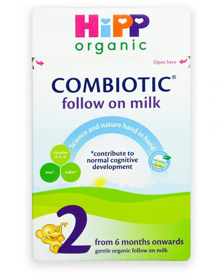 Hipp Uk Stage 2 6 Months Combiotic Follow On Infant Milk Formula 800g With Images Hipp Organic Baby Food Recipes