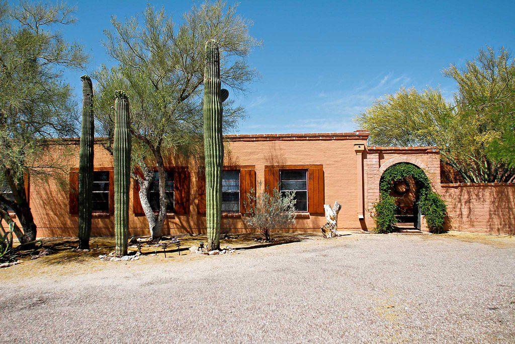 Homes For 500 000 Tucson Style Spanish Exterior Tucson