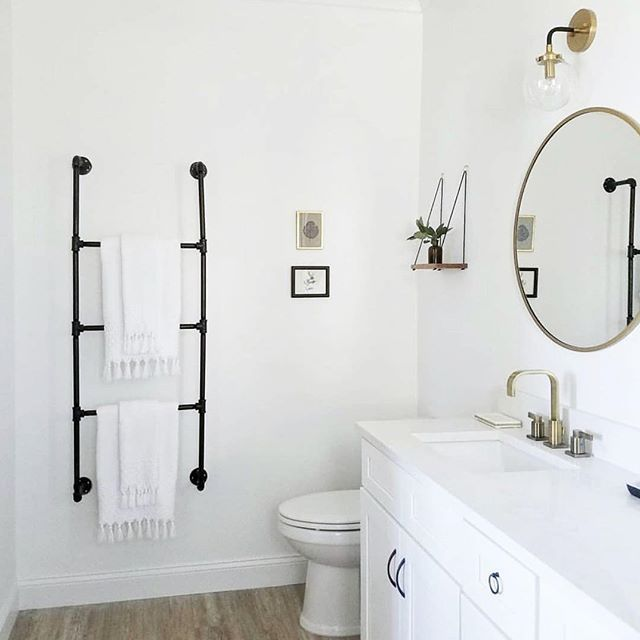 """The Gula Shop on Instagram: """"Loving that black towel rack. ❤️ What a great idea! . Reposted f...  The Gula Shop on Instagram: """"Loving that black towel rack. ❤️ What a great idea! . Reposted f #Black #Great #Gula #Idea #Instagram #Loving #rack #Reposted #Shop #Towel"""