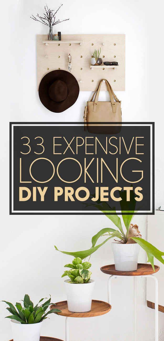 DIY projects that look expensive but aren't