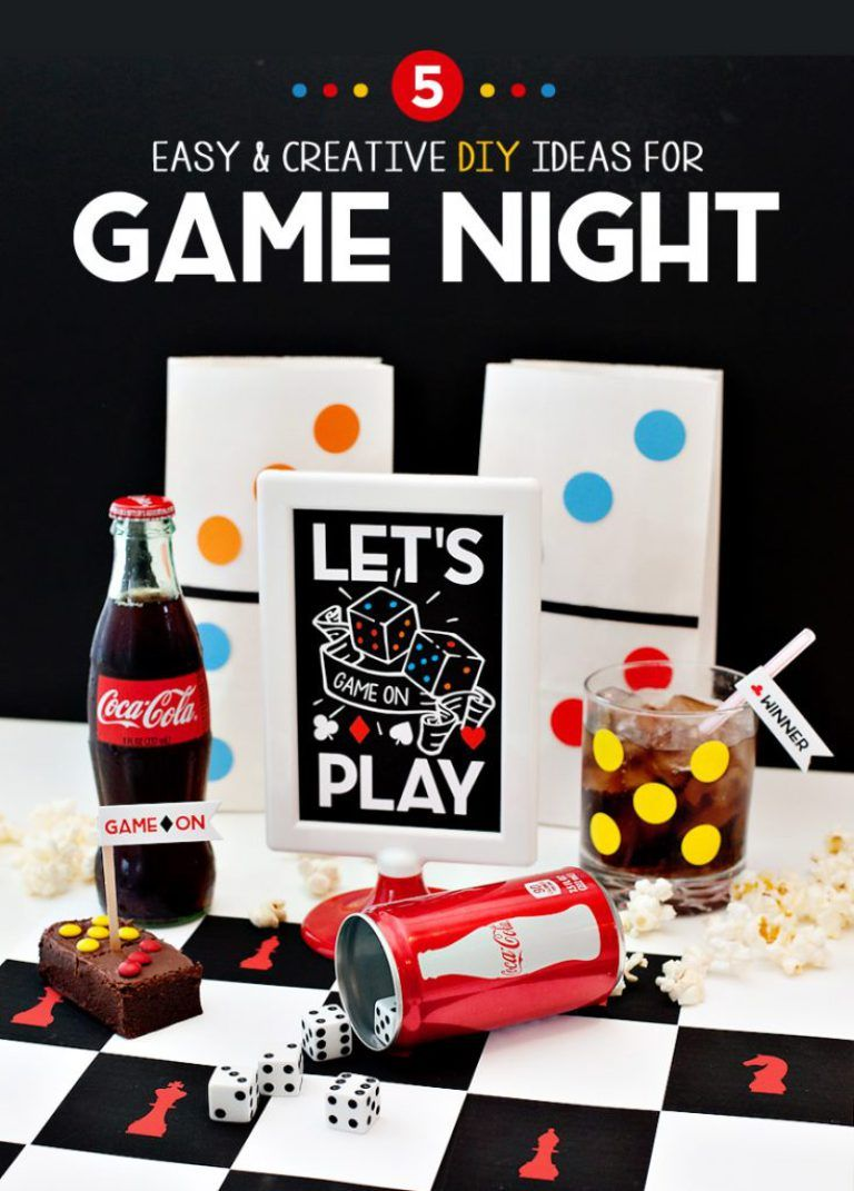 Game On 5 Easy Creative Ideas For Game Night Party Fun